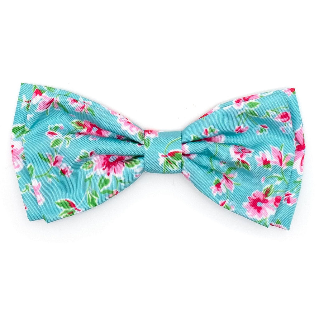 watercolor-floral-bow-tie