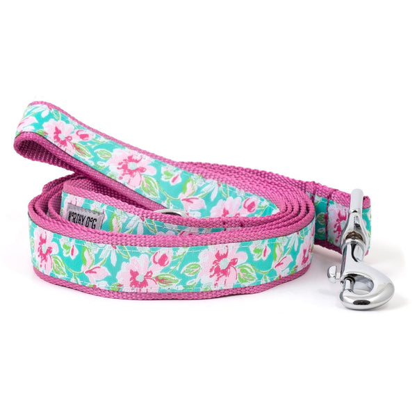 watercolor-floral-dog-leash