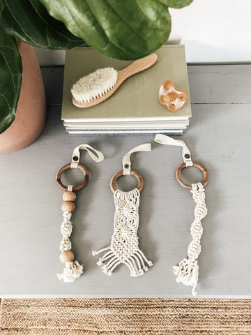 Finn + Emma Diamonds Macrame Toys