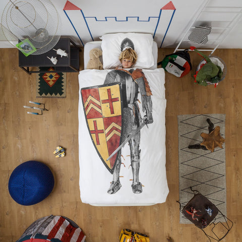 Snurk Knight Duvet Cover & Pillowcase