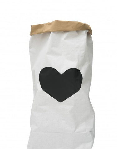 Tellkiddo Heart Paper Bag