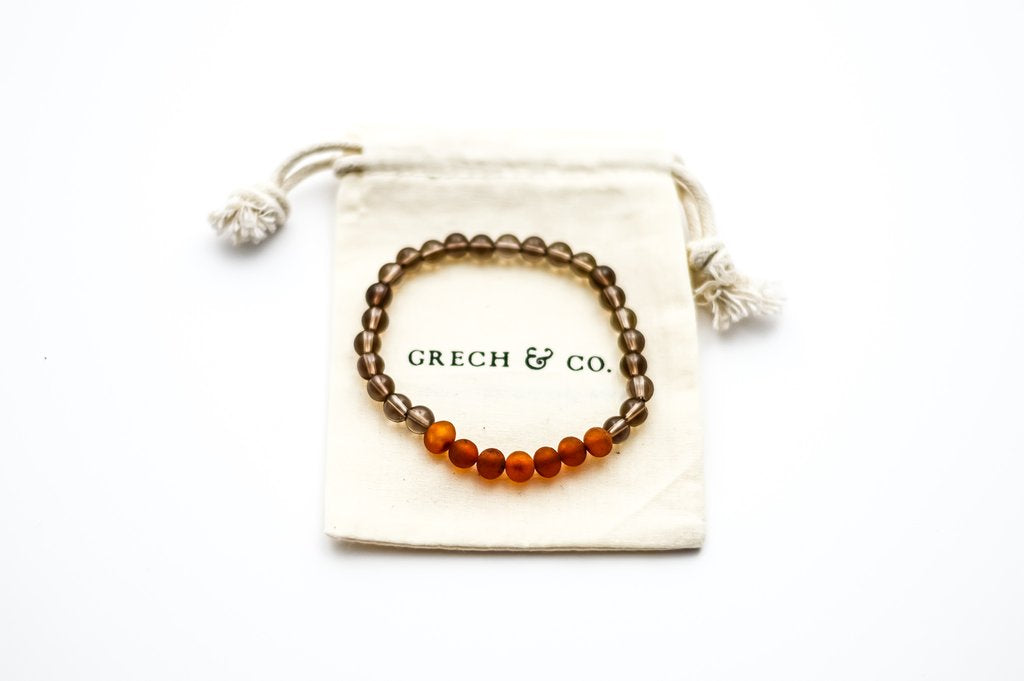 Grech & Co. Smokey Quartz Bracelet/Anklet