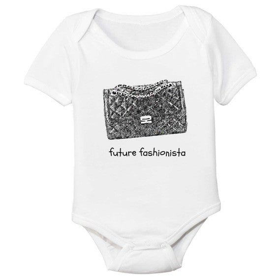 The Spunky Stork Future Fashionista Bodysuit