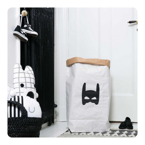 Tellkiddo Superheroe Paper Bag