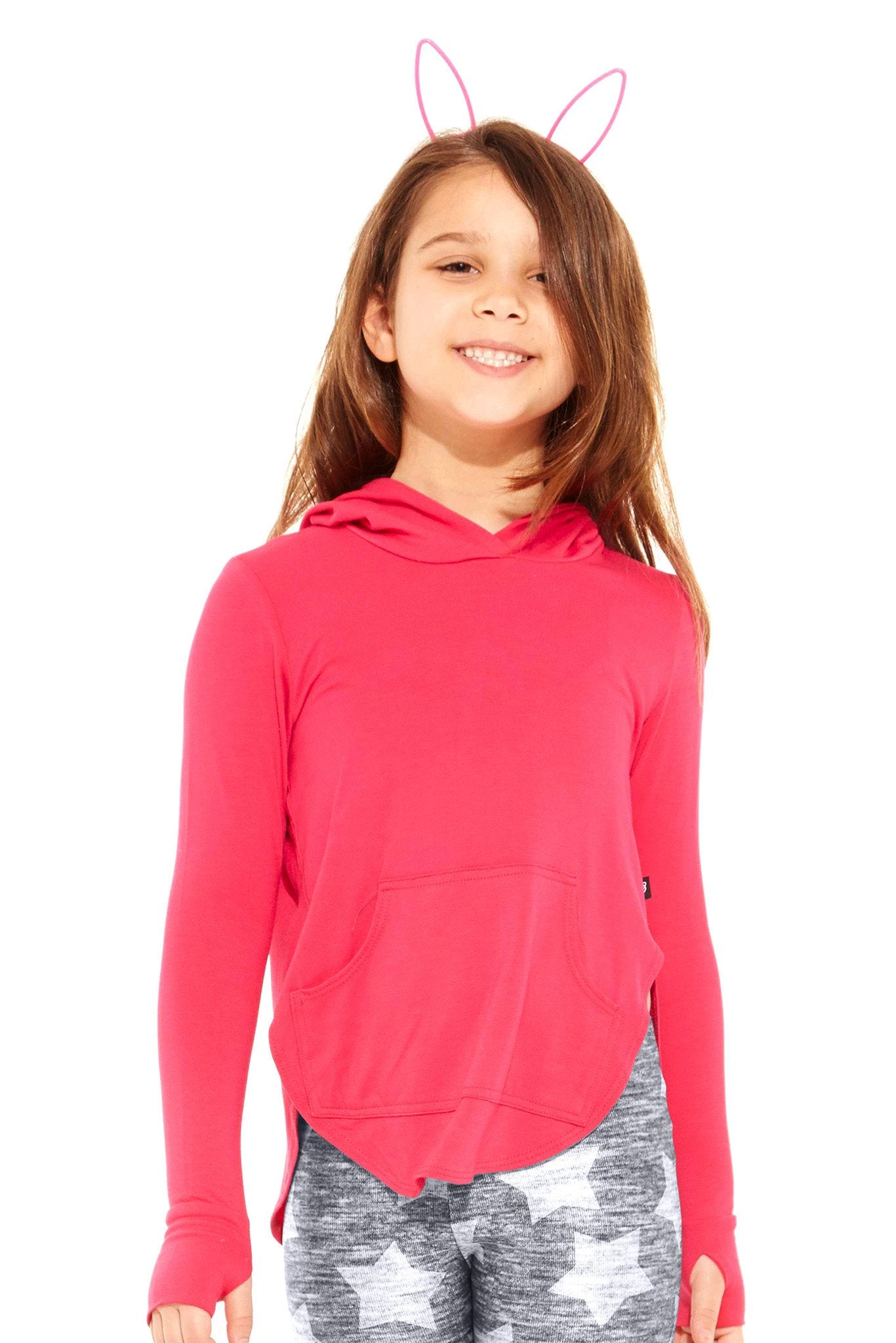 Terez Hooded Long Sleeve Kids