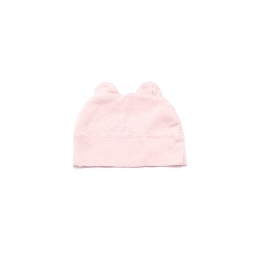Kira Kids Pink Powder Beanie With Ears
