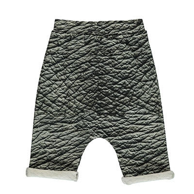 Popupshop Elephant Skin Baggy Shorts