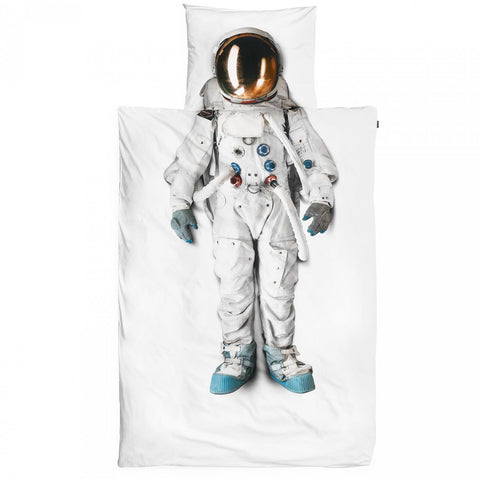 Snurk Astronaut Duvet Cover & Pillowcase