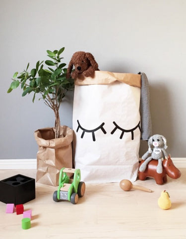 Tellkiddo Closed Eye Paper Bag
