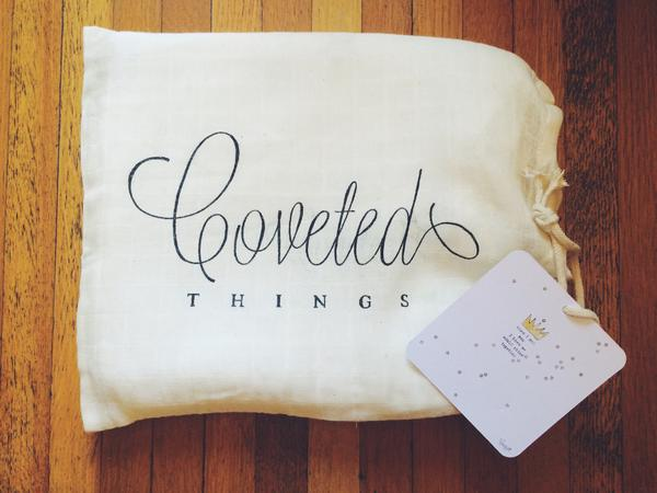 Coveted Things 'Crown' Organic Swaddle Blanket