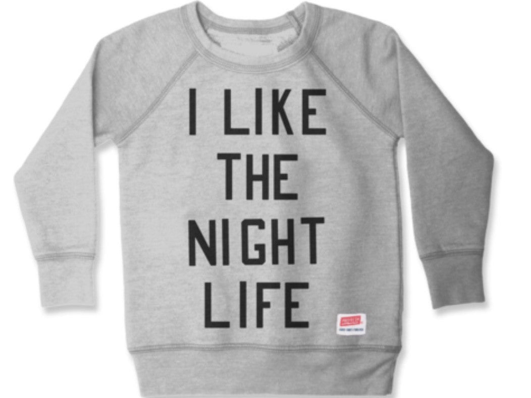 Prefresh I Like The Night Life Sweatshirt