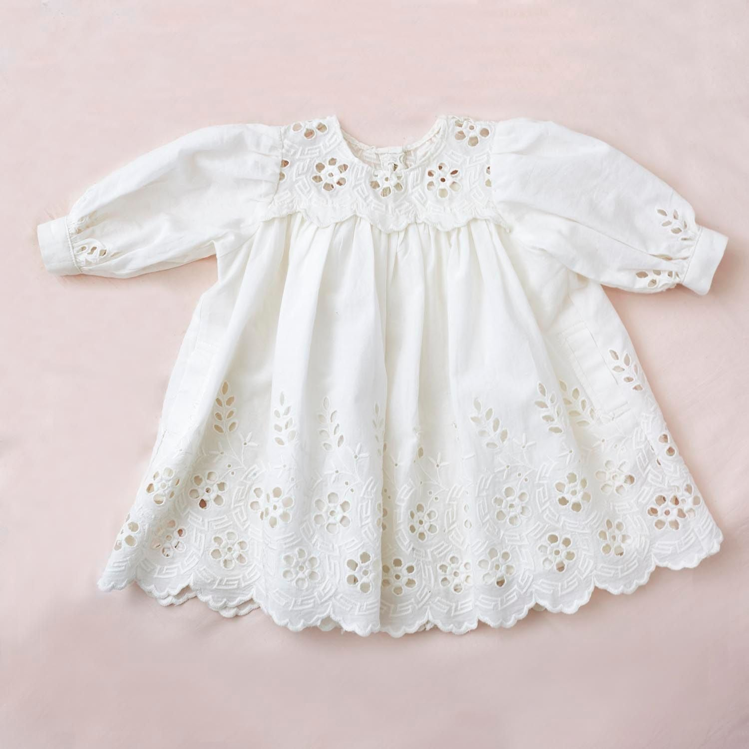 Petite Amalie Bebe Embroidered Dress