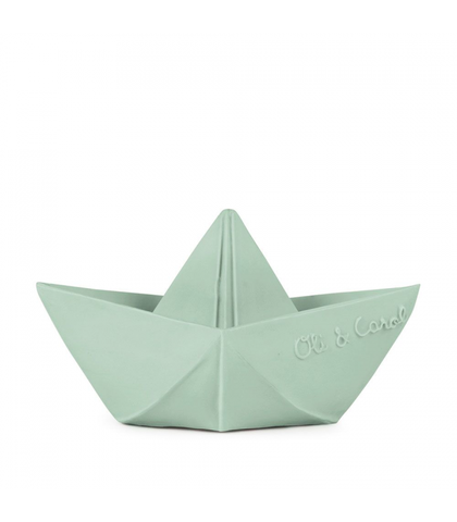 Oli and Carol Origami Boat Mint