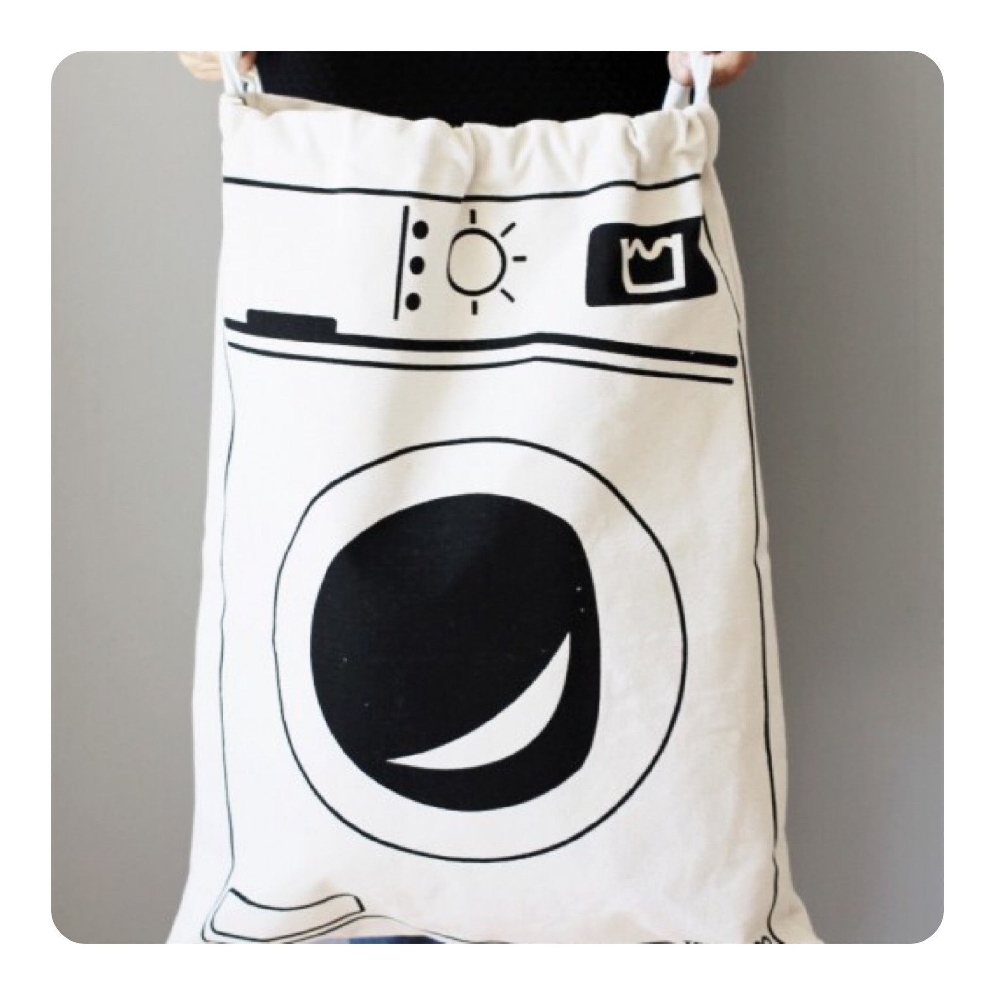 Tellkiddo Washing Machine Fabric Bag