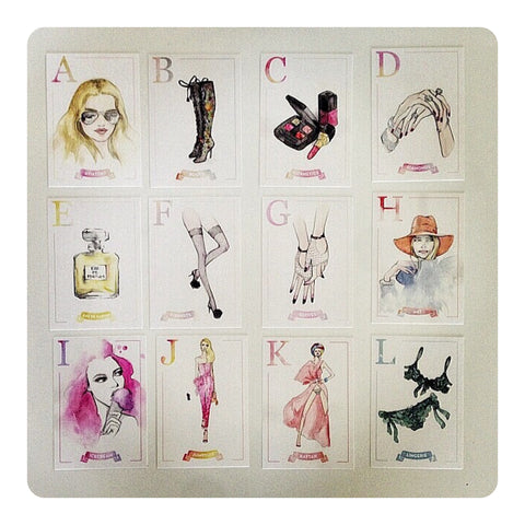 A-Z Fashion Flashcards