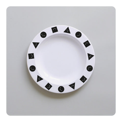 Buddy + Bear Shapes Plastic Plate