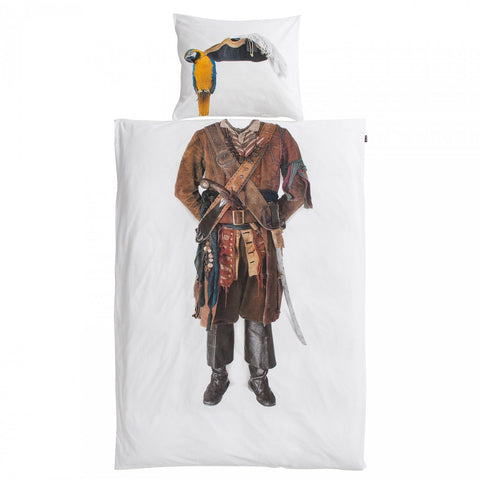 Snurk Pirate Duvet Cover & Pillowcase