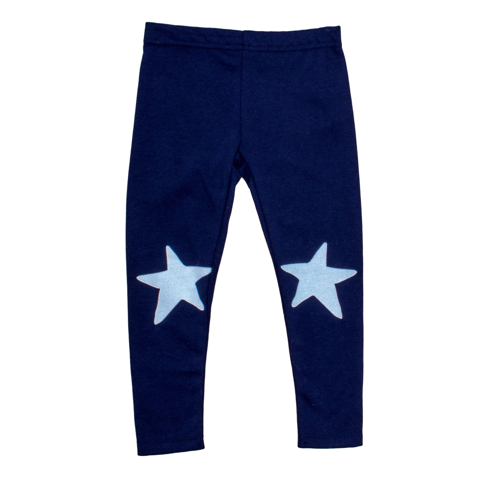 Noé & Zoë White Star Baby Leggings