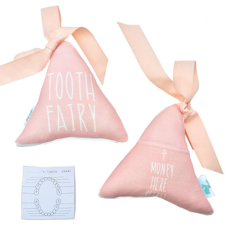 Macaroon Kids Triangle Tooth Fairy Pillow