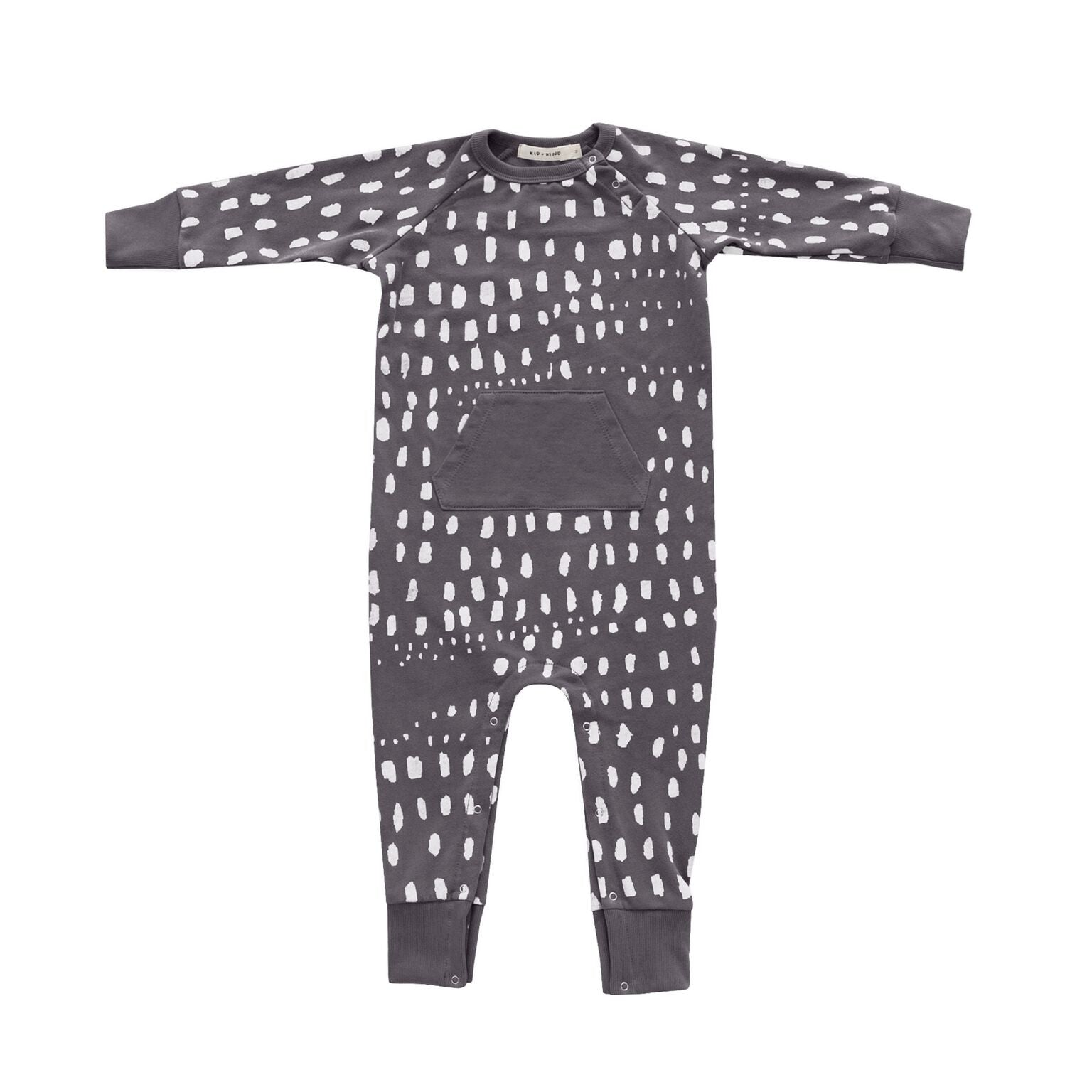 Kid + Kind Dots In A Row Playsuit