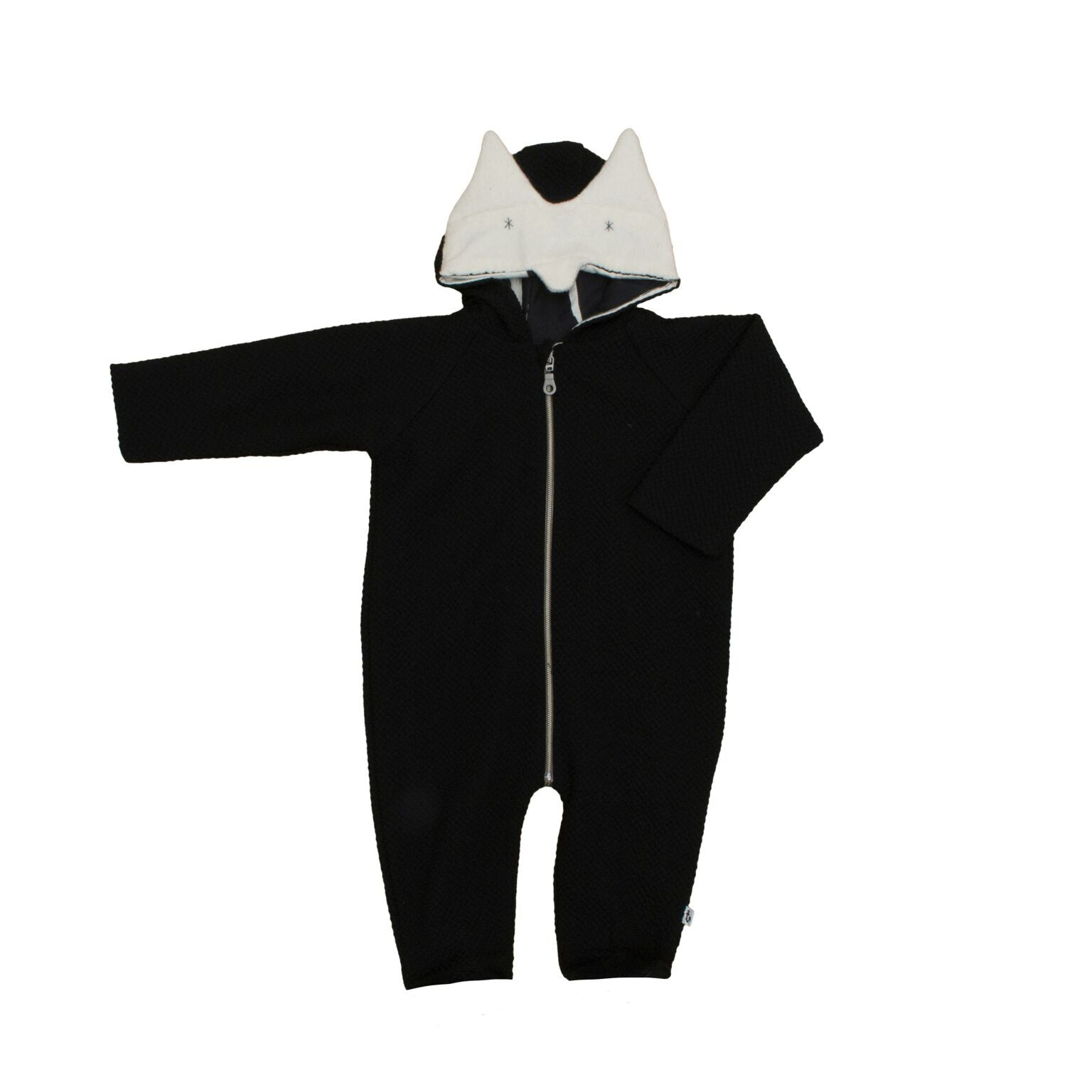 Noé & Zoë Fox Jumpsuit Black
