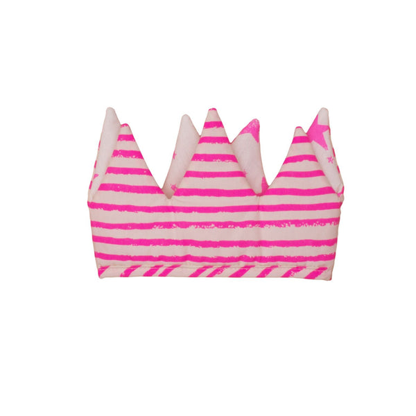 Noé & Zoë Reversible Neon Pink Crown