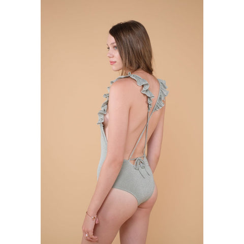 Louise Misha Doreva Almond Bathing Suit