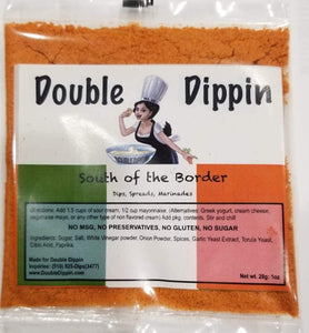 Buy Dips Online - Gluten free dips South of the Border - DoubleDippin