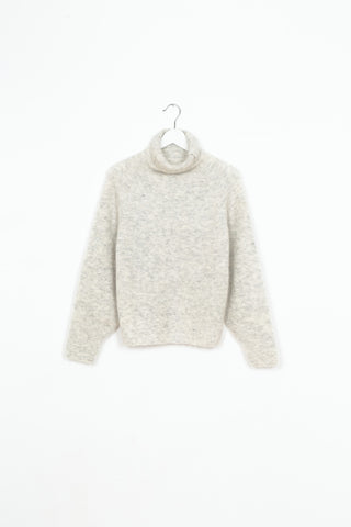High Neck Raglan Knit