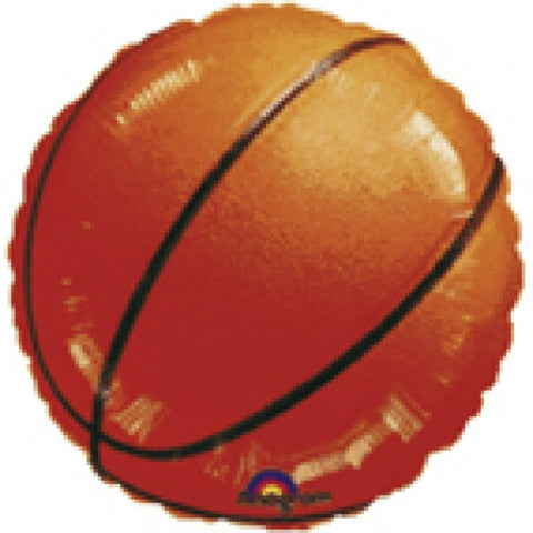 Basketball folieballon 43 cm