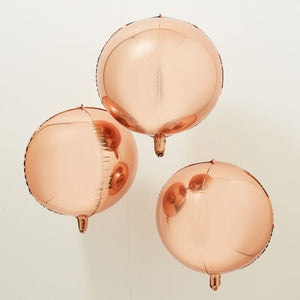 Rose Gold folie Balloner