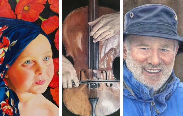 April 2021 Showcase - Colored Pencil Artwork