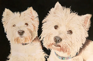 Did You Say Walk? - Colored Pencil Artwork by Stephen Dewar