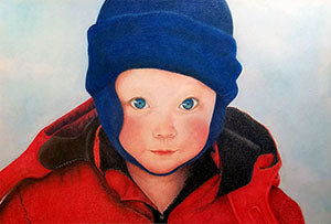 Where's the Snow? - Colored Pencil Artwork by Cathi Bartels