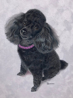 My Sweet Amber - Colored Pencil Artwork by Debra Bowen