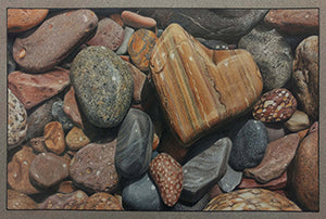 Finding the One - Colored Pencil Artwork by Scott Krohn