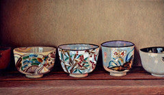 Teacups - Colored Pencil Artwork by Angela Bartlett