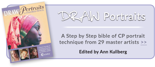 Draw Portraits by Ann Kullberg is a best selling guide for CP artists