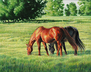 Afternoon Graze by Carrie Lewis