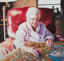 Treasured Times - Colored Pencil Artwork by Charlotte Hastings