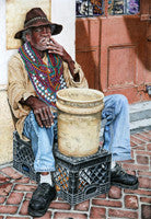 Living The Big Easy - Colored Pencil Artwork by Cheryl Caro