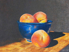 Three's a Crowd - Colored Pencil Artwork by Irma Murray