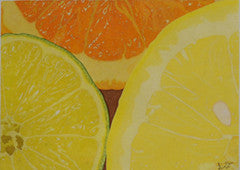 Limonade - Colored Pencil Artwork by Manon LeClerc