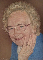 Mum - Colored Pencil Artwork by Margaret Howard