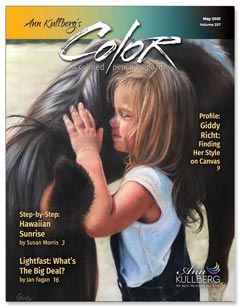 May issue COLOR Magazine cover