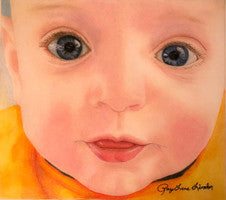 Aiden - Colored Pencil Artwork by Raylene Linder