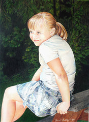 Ashton - Colored Pencil Art by Ann Kullberg