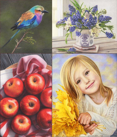 Painting in Colored Pencil - Sweet Things: Quick Start Pack