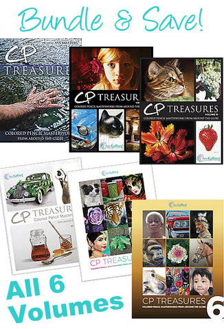 CP Treasures Book Set -  Volumes 1-6