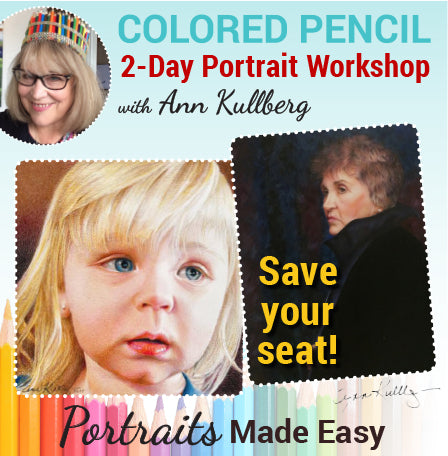 Mesquite, NV  2-Day Colored Pencil Portrait Workshop